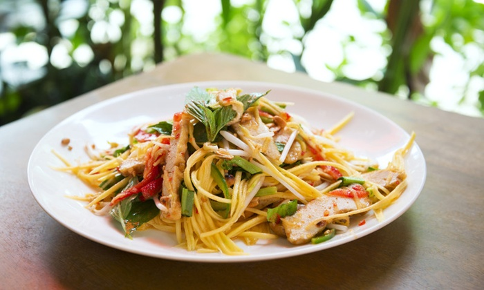 Bangkok Cuisine - University: $8 for $15 Worth of Thai Food at Bangkok Cuisine
