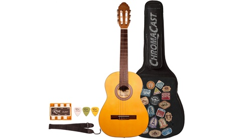Rise by Sawtooth Beginner's Acoustic Guitar with Accessories 0720c71a-a627-11e6-a249-00259060b5da