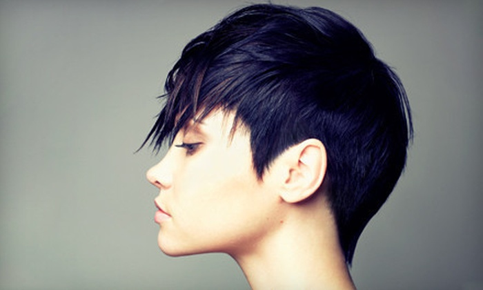 Carla's Salon - McLean: Haircut and Blow-Dry with Full or Partial Highlights at Carla's Salon (54% Off)