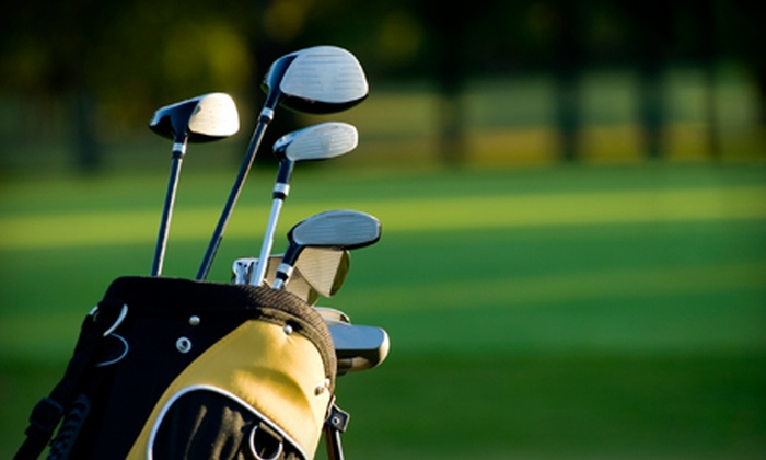 Oak Harbor Golf Club - Oak Harbor: $49 for 18-Hole Round of Golf for Two with Cart, Range Balls, and Grill Food at Oak Harbor Golf Club (Up to $102 Value)