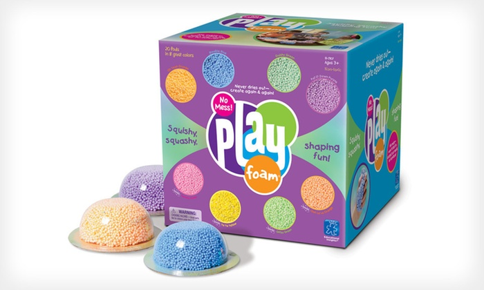 Playfoam 20-Pack: $14 for a 20-Pack of Playfoam ($19.99 List Price). Free Returns.