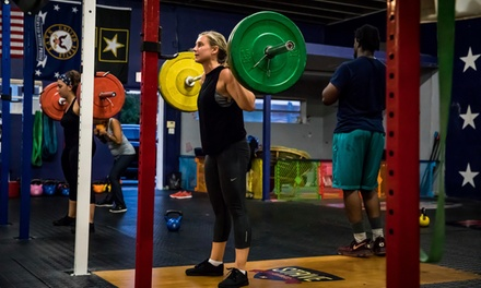 One or Two Months of Unlimited CrossFit Boot Camp Classes at CrossFit East Boca (Up to 84% Off)