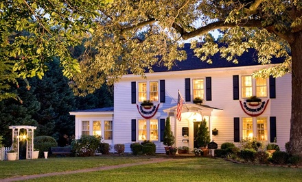Groupon Deal: Gift a 1- or 2-Night Stay for Two at A Williamsburg White House Inn in Williamsburg, VA