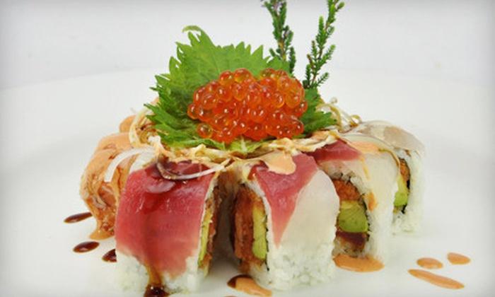 Reiki Sushi & Asian Bistro - Wilton: $22 for $40 Worth of Sushi and Asian Fare at Reiki Sushi & Asian Bistro