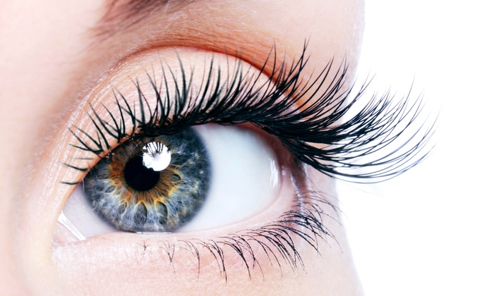 Girly Girl Lashes - Salons by JC: Full Set of Synthetic Mink Eyelash Extensions with One Optional Fill at Girly Girl Lashes (Up to 62% Off)