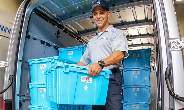 Storrage - Seattle: $179 for 25 Reusable Boxes with Pickup, One Month of Storage, and Delivery from  Storrage ($360 Value)