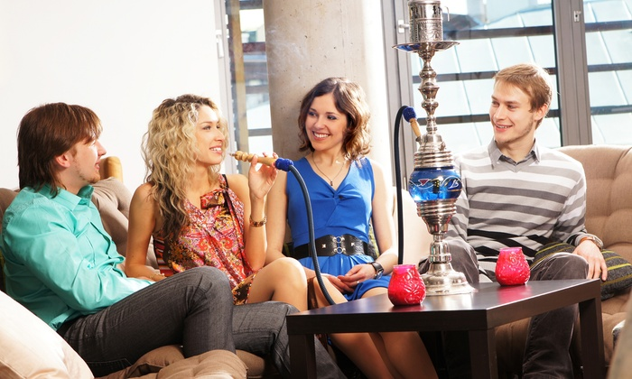 Bliss Bar & Lounge - Johns Creek: Hookah Package for Two or Four at Bliss Bar & Lounge (Up to 42% Off)