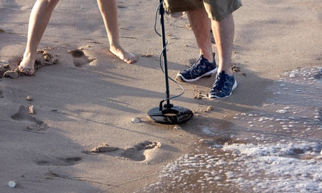 All-Day Metal Detector Rental with Optional Scoop and Trowel from Riverfront Kayaks (Up to 62% Off) dbd5ad8c-b78d-75d4-b658-ba952a02e556
