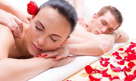 Masaje en pareja o a 4 manos de 30, 60 o 90 minutos con cava y bombones desde 39,95 € en Green Spa Oferta en Groupon