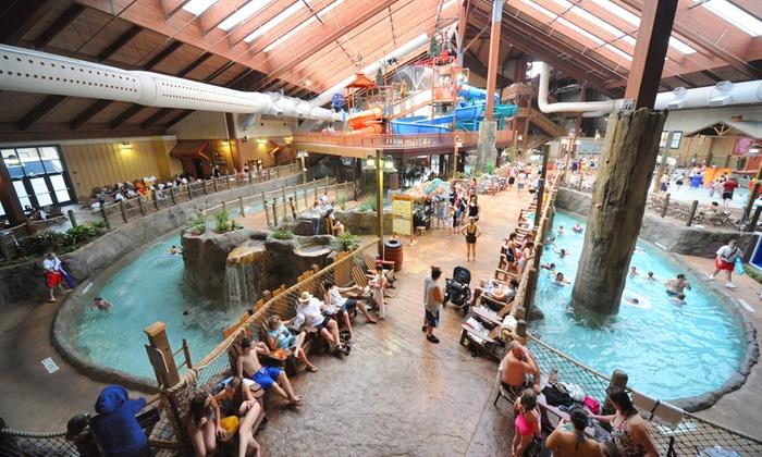 Six Flags Great Escape Lodge Indoor Waterpark In Queensbury Ny Groupon Getaways