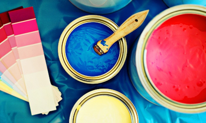 Your Painters - The Loop: Interior Painting for One Room Up to 13'x13'x8' or 17'x15'x8' from Your Painters, Inc. (Up to 58% Off)