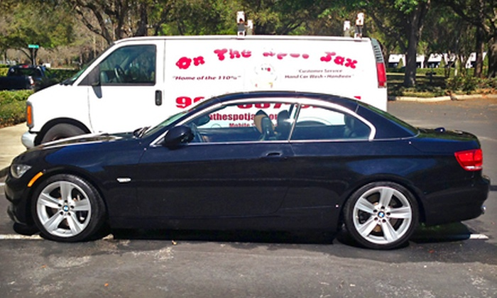 On the Spot Jax - Orange Park: Mobile Exterior Detailing, or One or Two Mobile Bronze Detailing Packages from On the Spot Jax (Up to 57% Off)