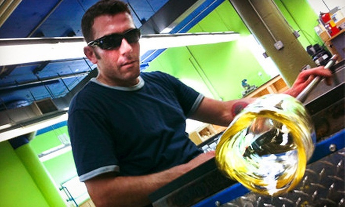 J & C Glass Studio - Glenville: $62 for a Glass-Blowing Workshop at J & C Glass Studio ($125 Value)