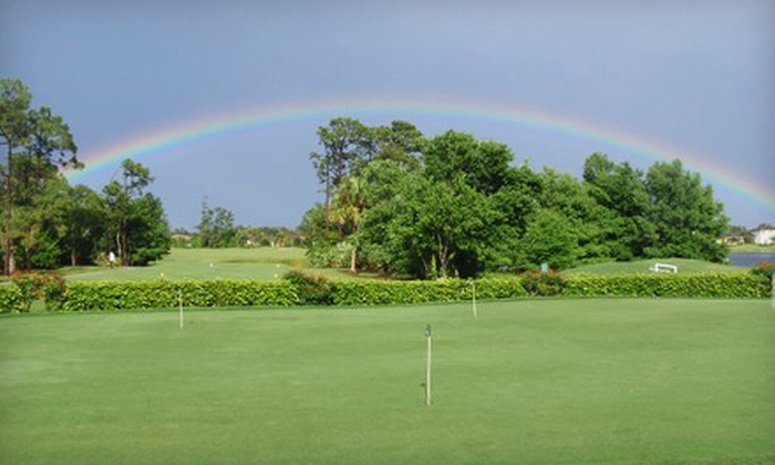 Palm Beach Gardens Golf Course - Palm Beach Gardens Golf Course: 18-Hole Round of Golf with Cart Rental and Range Balls for Two or Four at Palm Beach Gardens Golf Course (Up to 52% Off)