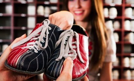 One Hour of Bowling with Shoe Rental for up to Four  - Sarasota Lanes in Sarasota