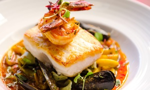 Red Square Euro Bistro: $52 for Dinner for Two with Starters and Dessert at Red Square Euro Bistro (Up to $97 Total Value)