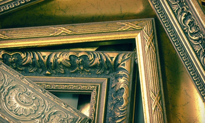 Affordable Frame Design - Multiple Locations: Custom Framing Services at Affordable Frame Design (Up to 76% Off). Three Options Available.