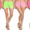 Clementine Women's Fashion Shorts (4-Pack)