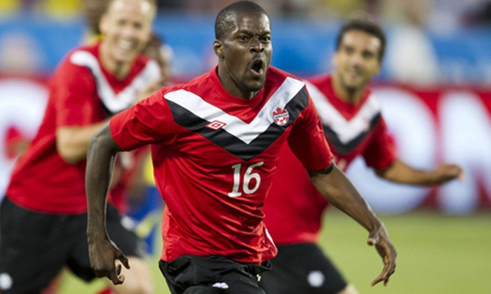 Canada vs. U.S.A. Centennial Match - Toronto: Men's National Team Soccer Match Against United States on June 3 (Up to 51% Off). Three Options Available.