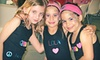 C BY ME - Hollywood: Classic Rhinestone T-shirt Design Packages for Two or Four at C By Me Creative Clothing & Art Studio in Dania Beach (Up to 55% Off)