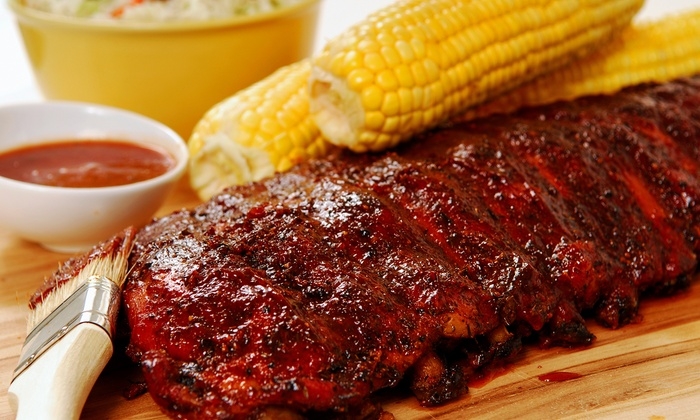 Slow Hand BBQ - Pleasant Hill: Barbecue Dinner for Two or Four with Beer and Sides at Slow Hand BBQ (Up to $34.80 Off)