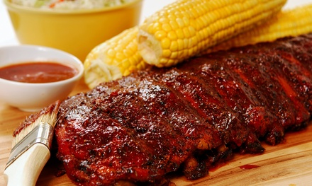 Barbecue Dinner for Two or Four with Beer and Sides at Slow Hand BBQ (Up to $34.80 Off)