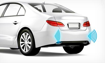 Sensores traseros de aparcamiento por 129 € o retrovisor con cámara de estacionamiento por 229 €. Instalación incluida