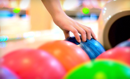 Two Games of Bowling with Shoe Rental for Two or Four at Rainbow Lanes Family Fun Center (Up to 54% Off)