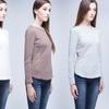 Women's Long-Sleeved Jersey Top