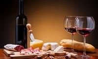 1 planche de charcuterie ou 1 camembert cuit avec 2 verres de vins pour 2 personnes à 19,90 €au Millésime del Castel