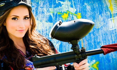 $49 for an All-Day Paintball Party with Equipment for Up to 10 at Paintball International ($350 Off)