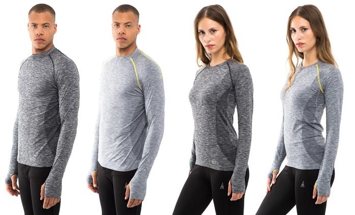 Aim High Longsleeve-Shirt in Grau oder Dunkelgrau (61% sparen*)