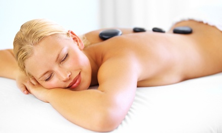 $48 for a Massage with Choice of Hot-Stone, Hot-Towel, or Scalp Treatment from Skin Suite ($96 Value)