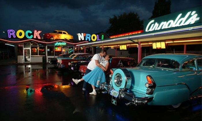 Arnold's Drive-In - Decatur: $10 for Two $10 Groupons of Burgers and Drive-In Cuisine at Arnold's Drive-In