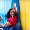 Half Off Inflatable Playground Visit and Coffee