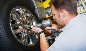 Easy Fix Tyres: Automotive Puncture Repair (£9) Plus Wheel Alignment (from £22) at Easy Fix Tyres