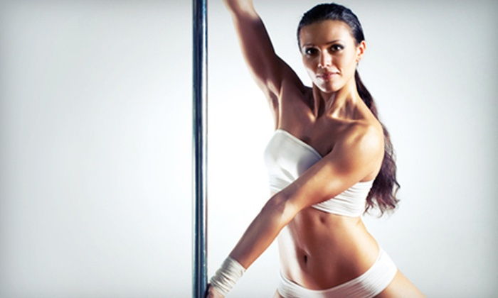 D~L Fitness Studios - Columbus Park: $39 for One Month of Pole Fitness Classes at D~L Fitness Studios ($80 Value)