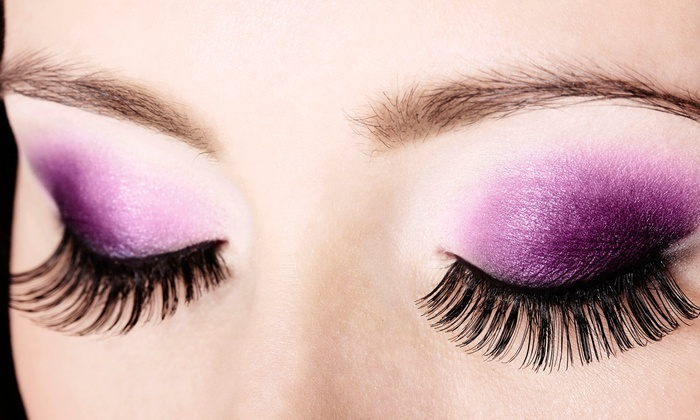 Vspa - Levittown: Full Set of Mink Eyelash Extensions with Optional Touch-Up at Vspa (Up to 46% Off)