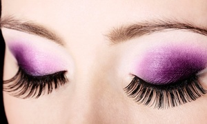 Vspa: Full Set of Mink Eyelash Extensions with Optional Touch-Up at Vspa (Up to 41% Off)