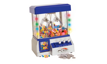 The Claw Candy and Toy Machine with LED Lights and Music
