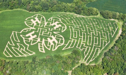 Admission for Four, Six, or Eight to Eagle Fork Corn Maze (50% Off)