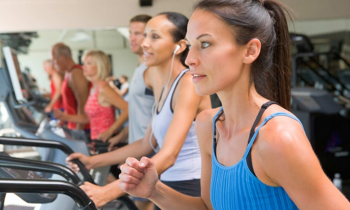 Anytime Fitness - To College Court: $29 for One-Month Membership with Tanning and Personal-Training Session at Anytime Fitness ($144 Value)