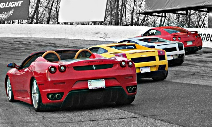 Circuit One Presented by Mohegan Sun - Thompson Speedway Motorsports Park: Three, Five, or Seven Laps in an Exotic Car at Historic Thompson Speedway from Circuit One Presented by Mohegan Sun (Up to 67% Off)