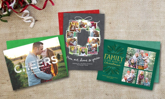 Cardstore: 40, 75, or 110 Custom Flat Holiday Cards from Cardstore (Up to 51% Off)