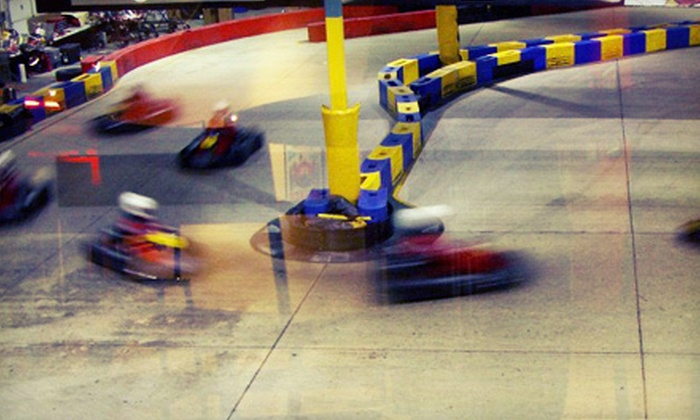 K-1 Speed - Multiple Locations: $30 for a Go-Kart Racing Package at  K-1 Speed (Up to a $65 Value)