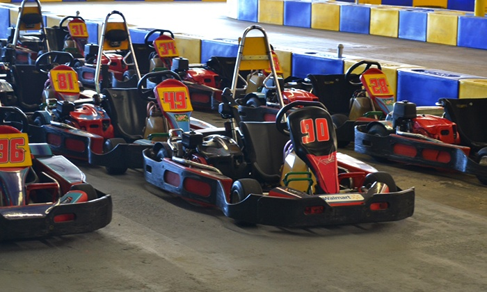 G-Force Karts - Portsmouth: Two or Three Adult or Junior Kart Races at G-Force Karts (Up to 59% Off)