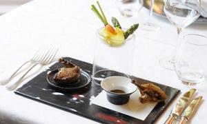 La Belle Meunière: Menu découverte de Laurent Jury avec entrée, plat et dessert pour 2 convives à 85 € au restaurant La Belle Meunière