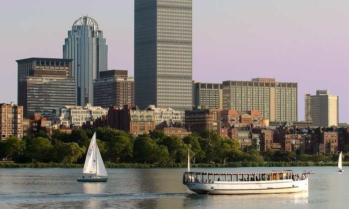 Charles Riverboat Company - Cambridgeside Galleria Mall: Architecture Boat Tour for One or Two from Charles Riverboat Company (36% Off)