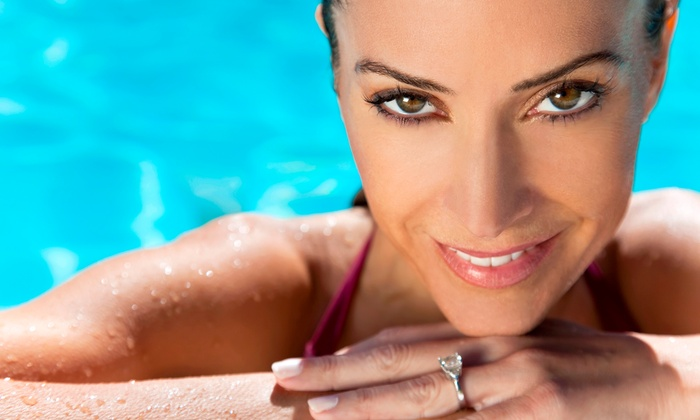 LA Bronze Ultra Luxe Tanning Studios - Plymouth Meeting: Three Mystic Spray Tans or One Month of Unlimited UV Tanning at LA Bronze Ultra Luxe Tanning Studios (Up to 68% Off)