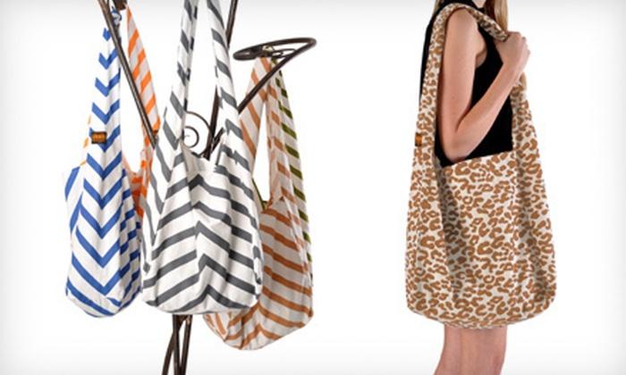 24d7f4e77 $19 for a Vine Street Market Canvas Bag | Groupon